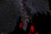Chrissy & I under the Milky Way